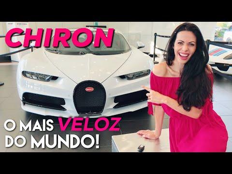 Bugatti CHIRON: O carro de produção MAIS VELOZ DO MUNDO! Conheci a versão SPORT de $3,5 milhões!