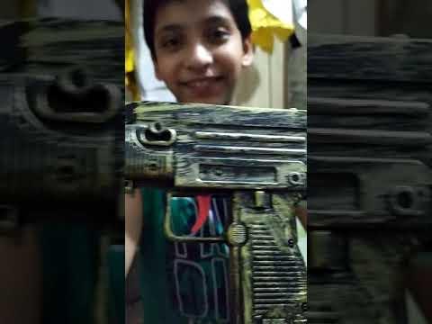 Unboxing And Testing New Uzi Submachine Toy Gun Best Army Gun