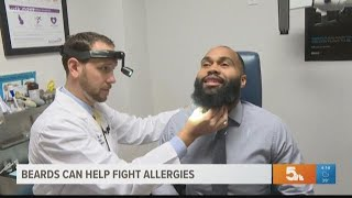 Can beards really help fight allergies?