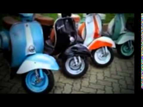 Modifikasi Vespa Antik Motor Klasik Youtube