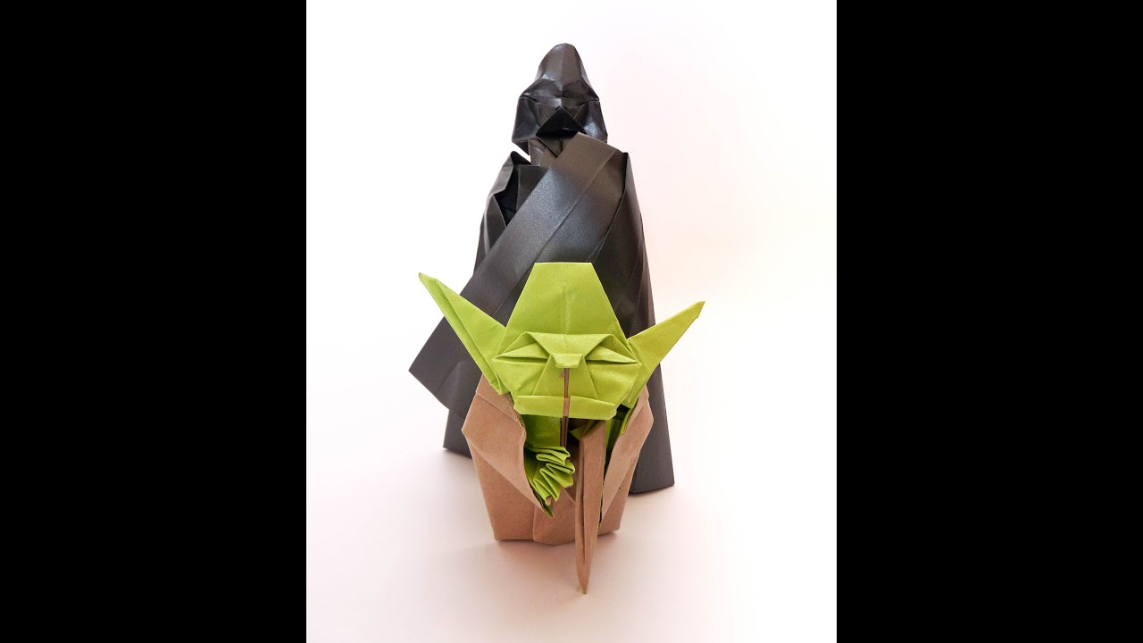 Origami Darth Vader 20 Youtube
