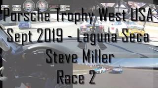 Steve Miller - Porsche Trophy West USA - Laguna Race 2