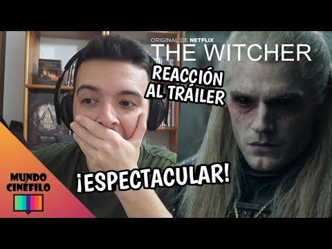 """¡ESPECTACULAR! REACCIÓN al TRÁILER de """"THE WITCHER"""" (SERIE NETFLIX)"""