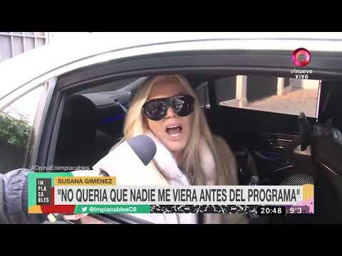 Habló Susana Gimenez antes de de su nuevo debut