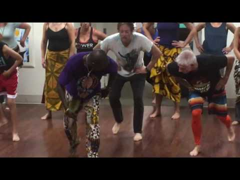 African Dance Class with Youssouf Koumbassa and Namory Keita