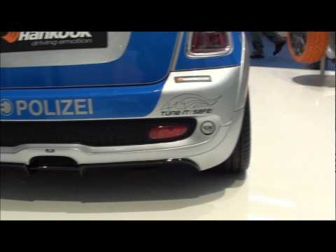 Mini Cooper Polizei e-Auto – Frankfurt Motor Show