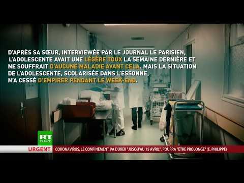 Coronavirus: décès de Julie, la plus jeune victime française de l'épidémie