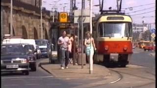 DVB Dresden Verkehrsbetriebe im Juni 1993
