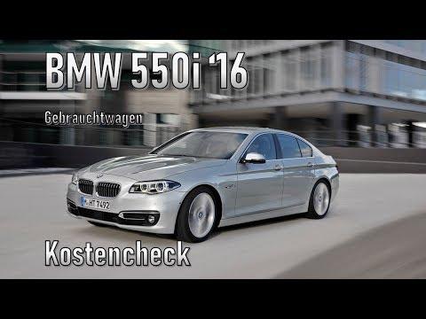 BMW 550i XDrive 2016 Unterhalt | Gebrauchtwagen
