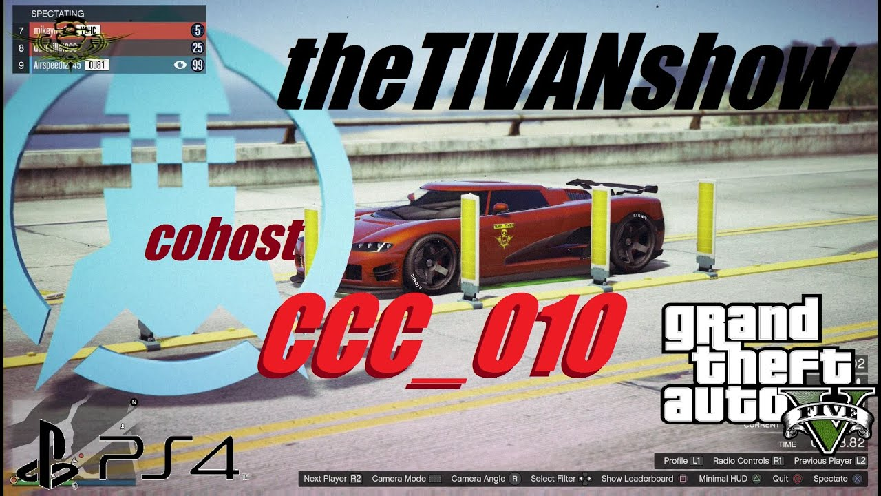 GTA5 - EPIC DAY in RACING - coHOST CCC_010 - PS4