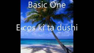 E cos ki ta dushi - Basic One