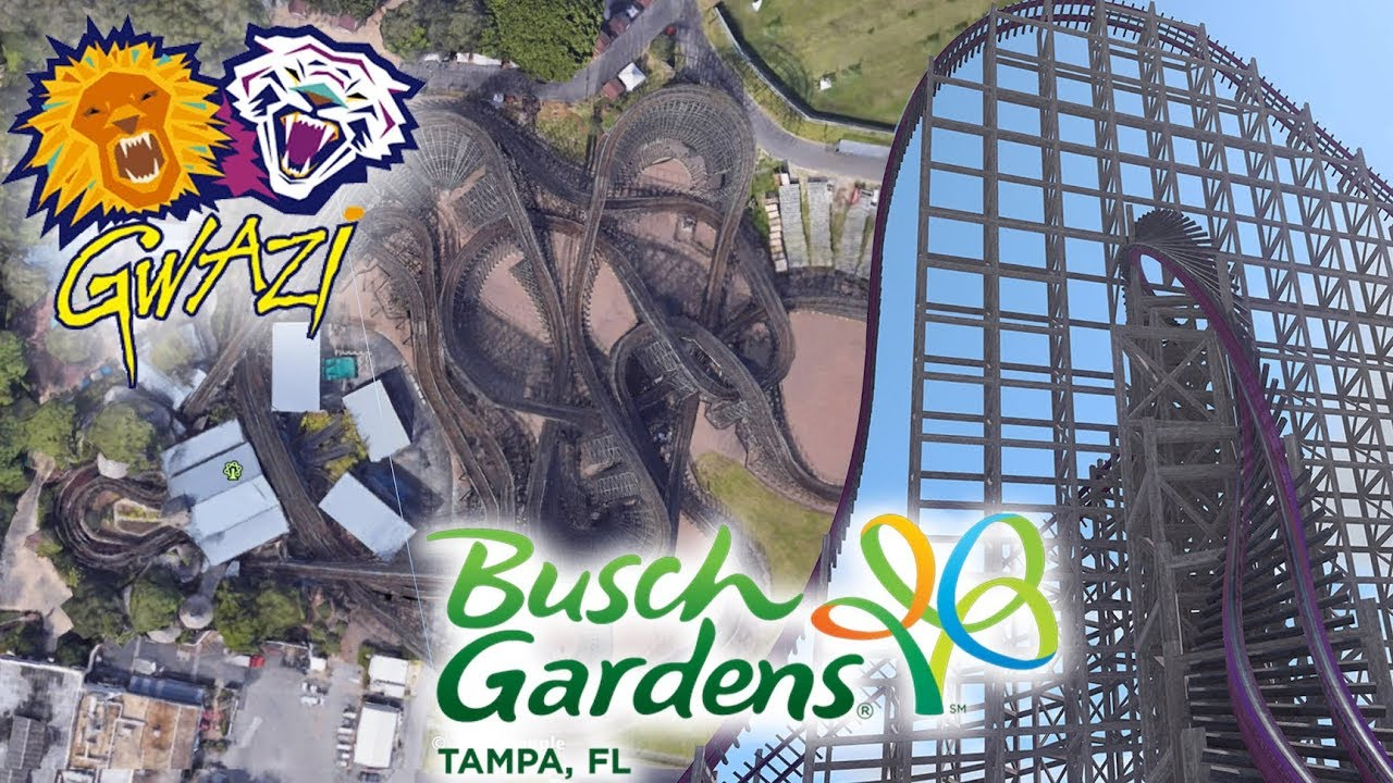 RMC Gwazi Announcement Breakdown | New 2020 Roller Coaster for Busch Gardens Tampa