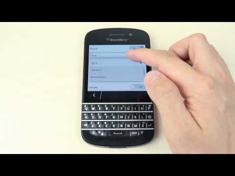 How to customize the ringtone by USB on BlackBerry Q10