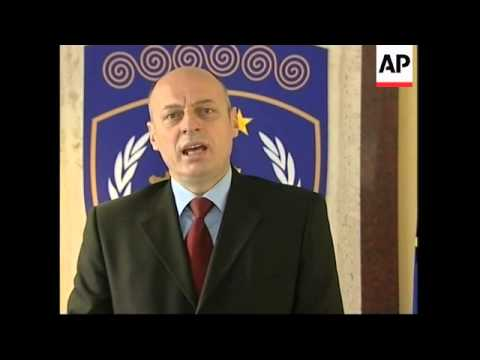 "Kosovo PM says ""do not betray this trust"" after Sarkozy calls for 6 month delay"