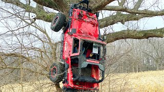 Tree Climbing with the JEEP