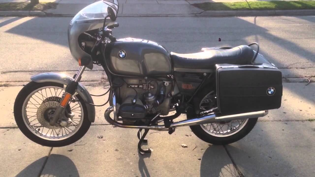 1977 bmw r100s for sale in michigan youtube. Black Bedroom Furniture Sets. Home Design Ideas