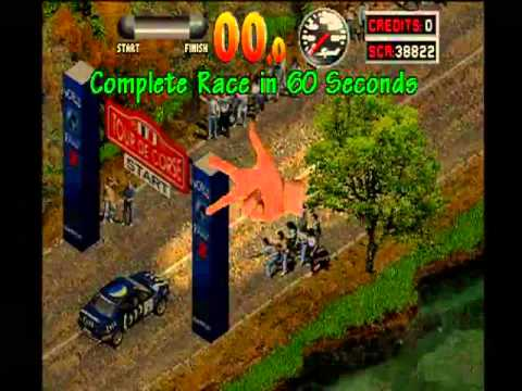 Unemulated Arcade Game - World Rally 2