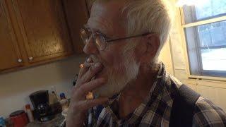 grandpa quits smoking the bet