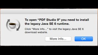 How to Fix Java SE 6 Runtime Issue on Mac OSx Yosemite