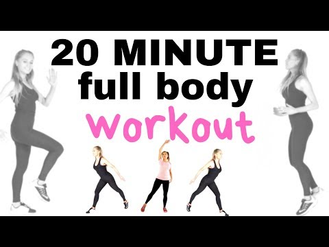 HOME FITNESS 20 MINUTE WEIGHT LOSS WORKOUT -TOTAL BODY AT HOME BURNS CALORIES AND TONES YOU UP