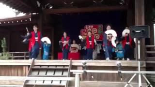 2012年7月13日に靖国神社能楽堂にて行われた奉納踊りの映像です。