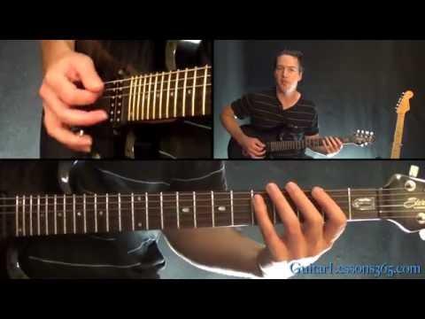 Flying In A Blue Dream Guitar Lesson (Part 1) - Joe Satriani