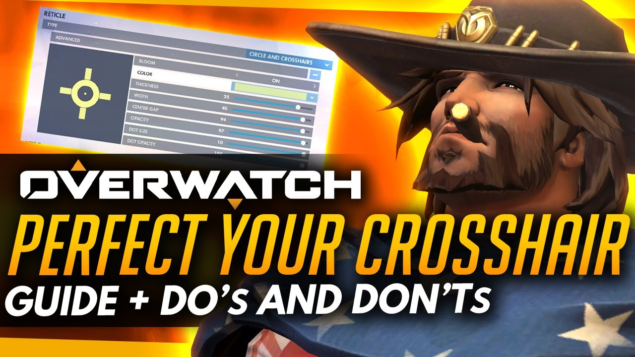 how to get crosshair on overwatch