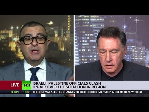 Israeli and Palestinian officials clash on-air over the situation in region