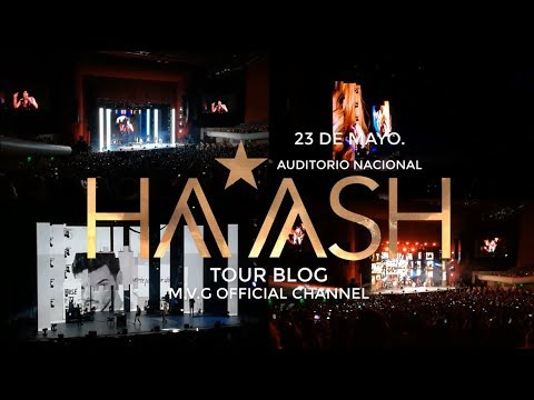 HaAsh Auditorio Nacional 23 de Mayo