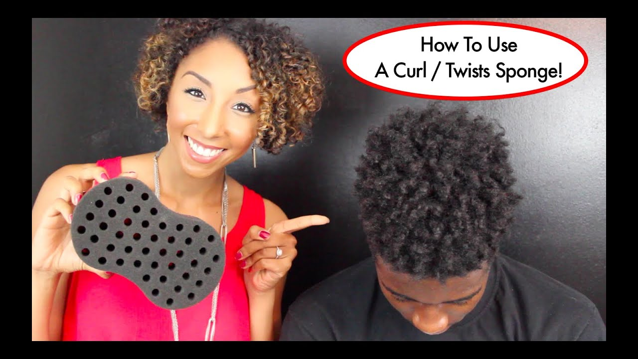 curl twists sponge