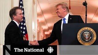 Brett Kavanaugh is Trump's nomination for U.S. Supreme Court