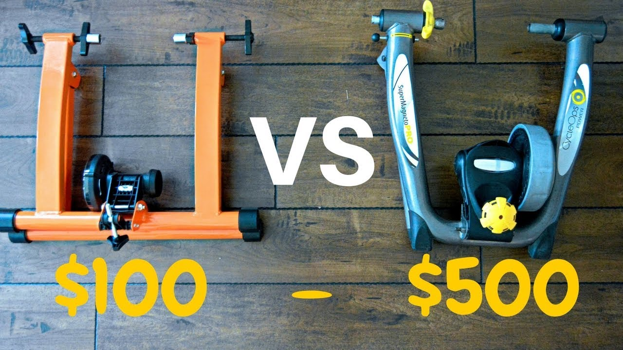 Magnetic Trainer Comparison Conquer Indoor Trainer Vs Cycleops