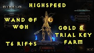 diablo 3 ros 2 1 wizard high speed t6 rift gold trial key wand of woh