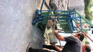 Стационарный вибростанок для производства блоков ВШС-4В(, 2015-07-08T06:17:35.000Z)