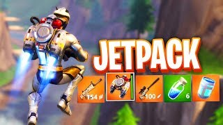 NEW JETPACK GAMEPLAY in Fortnite