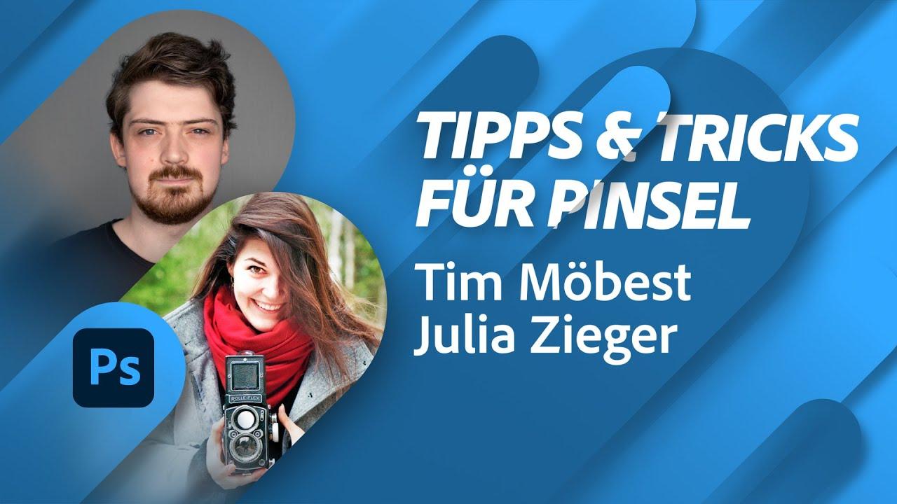 Wilde Tipps und Tricks für Pinsel mit Tim Möbest und Julia Zieger |Adobe Live