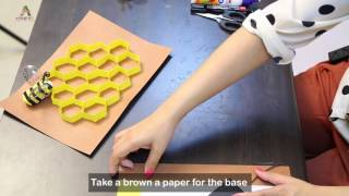 How to make a Bee Hive: Art & Craft- Creative Activity