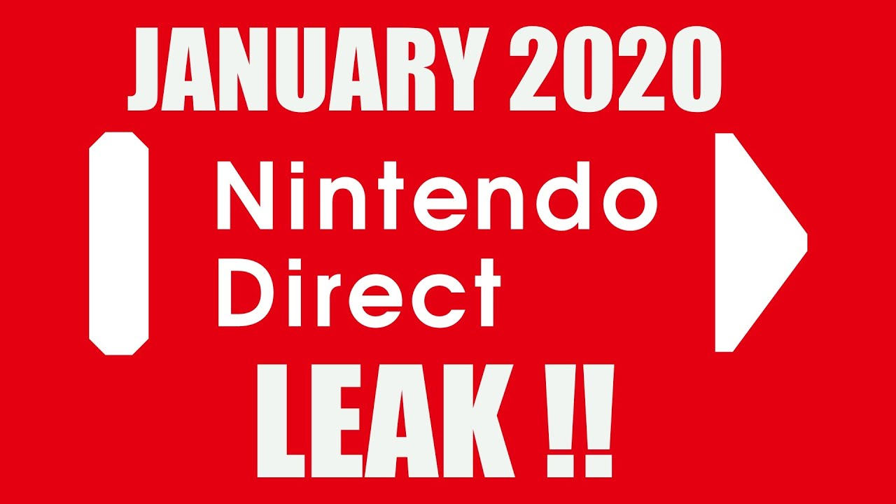 January 2020 Nintendo Direct Leak And ...