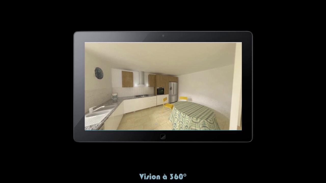 home staging 3d et r alit virtuelle youtube. Black Bedroom Furniture Sets. Home Design Ideas