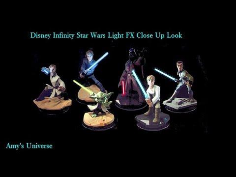 Disney Infinity Star Wars Light FX Figures Close Up (Amy's Universe)