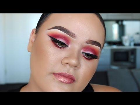 Matte Sunset Eyes & Big Winged Eyeliner | Makeup Tutorial