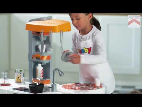 Smoby Studio Bubble Xl Kitchen Youtube