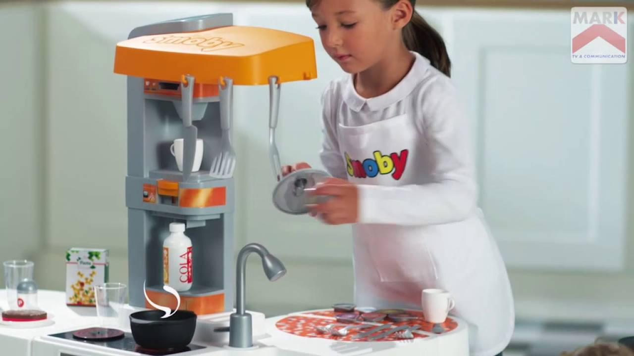 smoby - studio bubble xl kitchen - youtube - Smoby Tefal Studio Küche