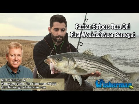 April 19, 2018 New Jersey/Delaware Bay Fishing Report with Jim Hutchinson, Jr.