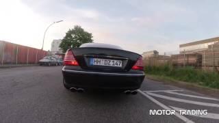 Mercedes CL500 Brutal Exhaust Sound   Motor Trading