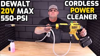 DeWALT 20V MAX 550-PSI Cordless Power Cleaner