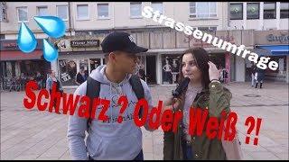 STEHST DU AUF SCHWARZE ODER WEIßE ?! | Straßenumfrage 💦❤️ | Ali Hakim