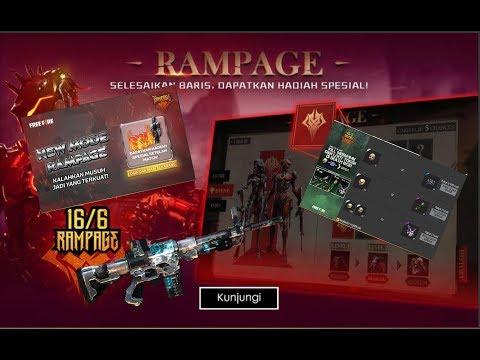 Skill Hoki Langsung Aktif!   Event Garena Freefire: Rampage  