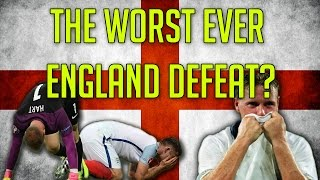 is this the worst england defeat of all time   england v iceland euro 2016