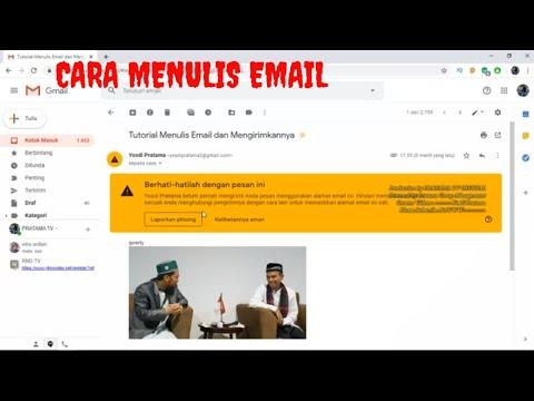 cara mengirim tugas lewat email.